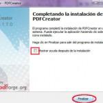 Impresora PDF Creator.